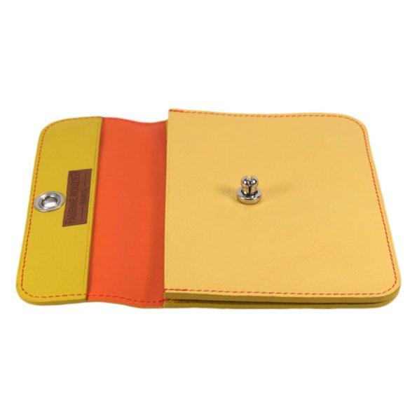 pochette-millefeuille-jaune-ouverte